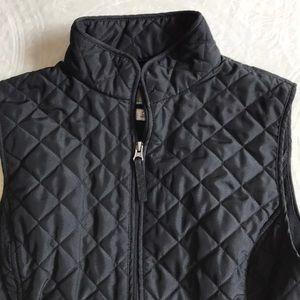 Van Heusen black quilted vest size S